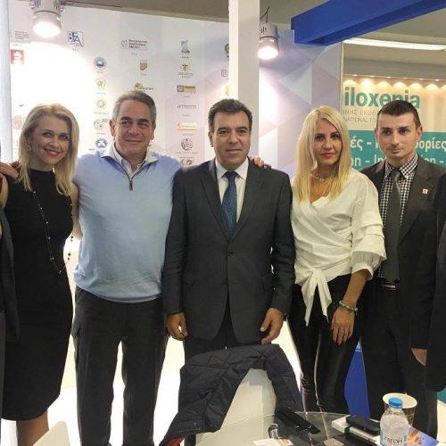 Στις εκθέσεις Philoxenia και Hotelia ο Γιώργος Μπίκας, υποψήφιος πρόεδρος του Επιμελητηρίου Ημαθίας