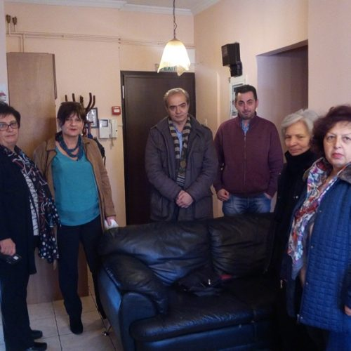 Επισκέψεις της Φρόσως Καρασαρλίδου σε Κοινωνικές δομές του Δήμου Βέροιας