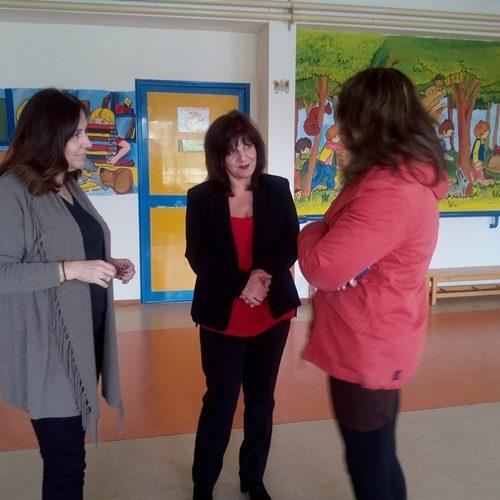 Σχολεία ειδικής αγωγής επισκέφθηκε η βουλευτής Φρόσω Καρασαρλίδου