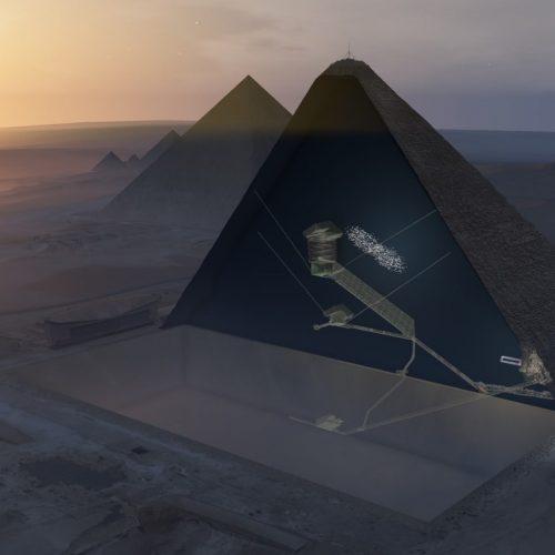 """Ιστορική ανακάλυψη: """"Κρυφός"""" θάλαμος 30 μέτρων στην Πυραμίδα του Χέοπα! - video"""