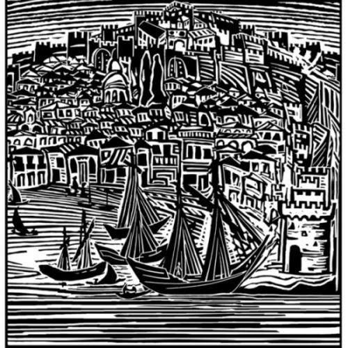 """""""Η  Θεσσαλονίκη  των  περιηγητών του  1800"""".  Έκθεση  χαρακτικών του  εικαστικού  Βασίλη  Καρκατσέλη"""