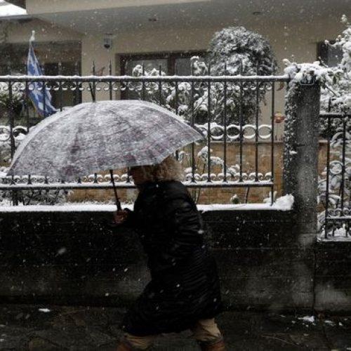 Ανακοίνωση για τη σωστή αντιμετώπιση της χιονόπτωσης και του παγετού