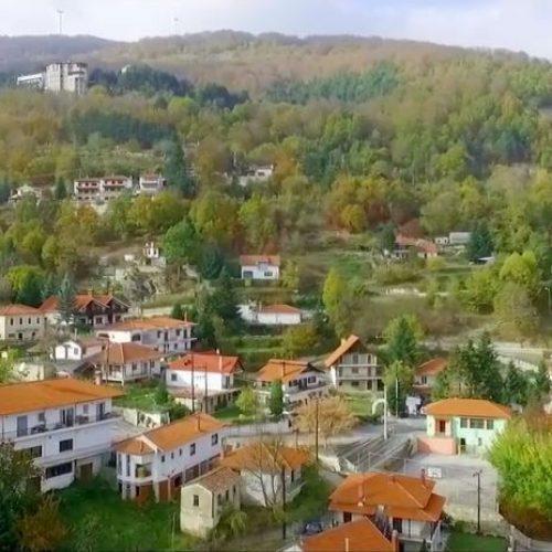 Η ομορφιά της Καστανιάς Ημαθίας από ψηλά - video
