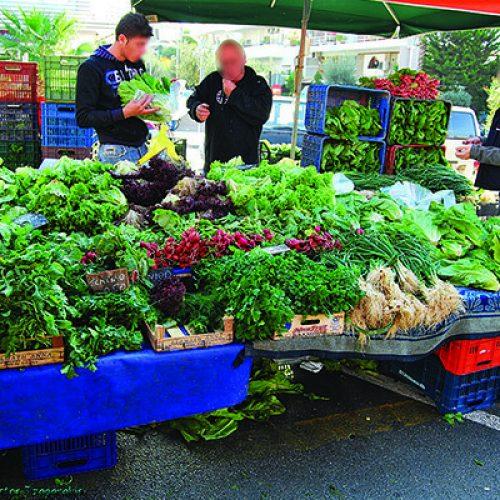 Λαϊκή αγορά στη Βέροια την ερχόμενη Τρίτη 2 Ιανουαρίου