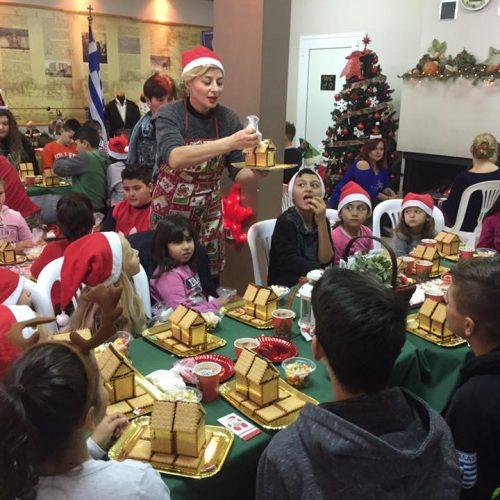 O κόσμος των γλυκών ζωντάνεψε στην Εύξεινο Λέσχη Χαρίεσσας
