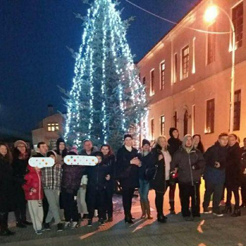 Χριστουγεννιάτικη βόλτα στη Βέροια για τη Μέριμνα Ατόμων με Αυτισμό