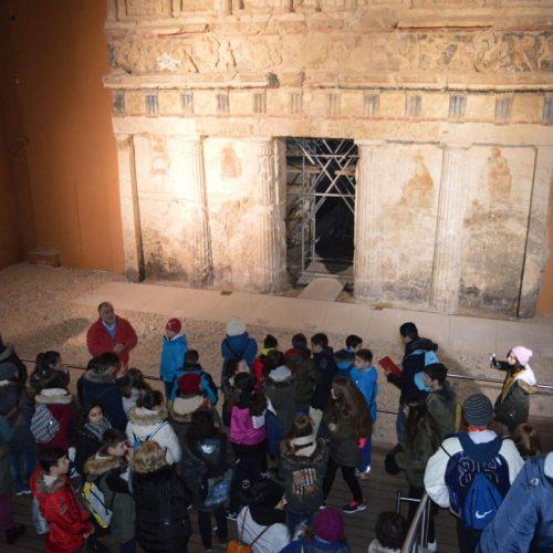 Μαθητική Διημερίδα συνδιοργάνωσαν η Εφορεία Αρχαιοτήτων Ημαθίας και η Δ/νση Δ/θμιας Εκπαίδευσης