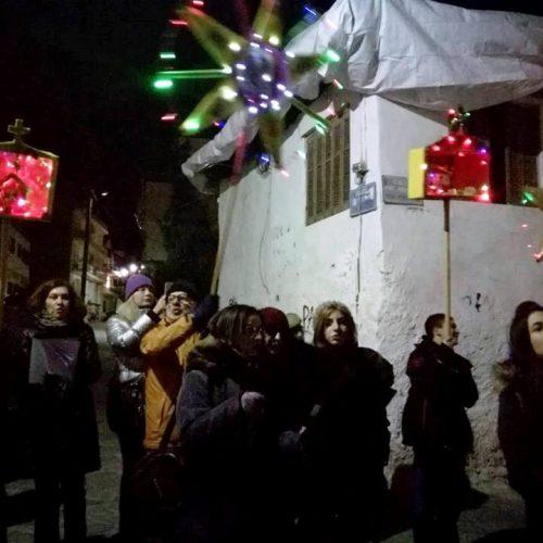 Η Κίνηση Πολιτών Κυριώτισσας έψαλε και φέτος τα παραδοσιακά κάλαντα