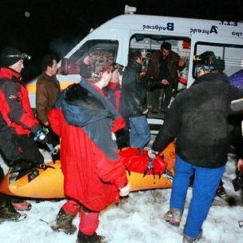 Αίσιο τέλος στην επιχείρηση διάσωσης των ορειβατών στον Όλυμπο, μετά τη χθεσινή απώλεια 26χρονου ορειβάτη