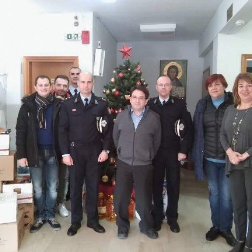 Επίσκεψη των Αστυνομικών της Νάουσας στο Γηροκομείο