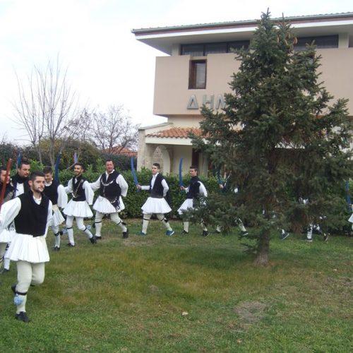 Ρουγκάτσια και Γουρουνοχαρά στη Βεργίνα, Σάββατο 30 Δεκεμβρίου
