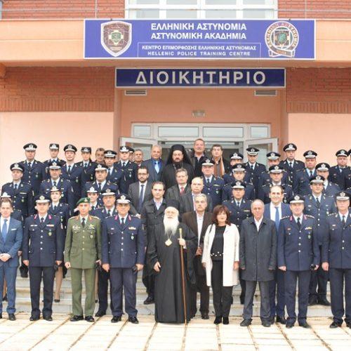 Η Τελετή απονομής πτυχίων στη Σχολή Ελληνικής Αστυνομίας στη Βέροια