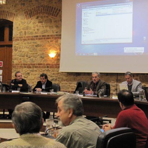 Με πολλές αντιπαραθέσεις η ενημέρωση του Δημοτικού Συμβουλίου Βέροιας για το Αιολικό Πάρκο στο Βέρμιο