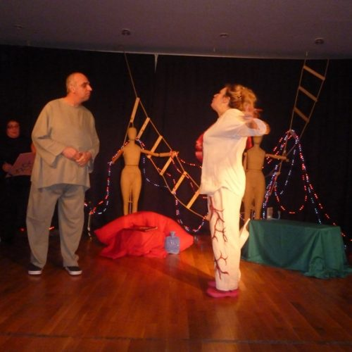 … Στον  απόηχο  της παράστασης – φιλανθρωπικής αποστολής -  στην  Παραμυθιά ζει ακόμη η  ομάδα θεάτρου εκπαιδευτικών του ΕΠΑΛ Βέροιας