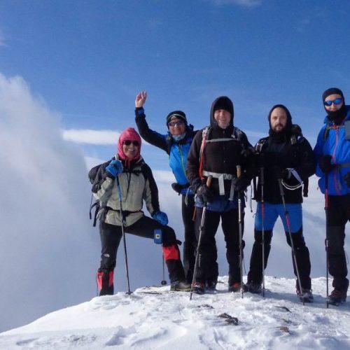 """Η Ορειβατική Ομάδα Βέροιας """"Τοτός"""" ανηφορίζοντας τον Σμόλικα από τα περάσματα της αρκούδας"""