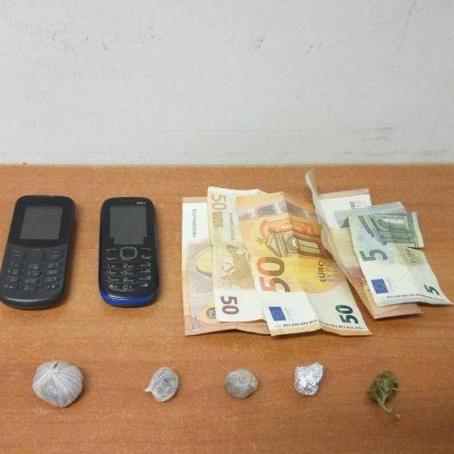 Συνελήφθη από αστυνομικούς του Τ. Α. Αλεξάνδρειας γιατί κατείχε 4 αυτοσχέδιες συσκευασίες με ηρωίνη