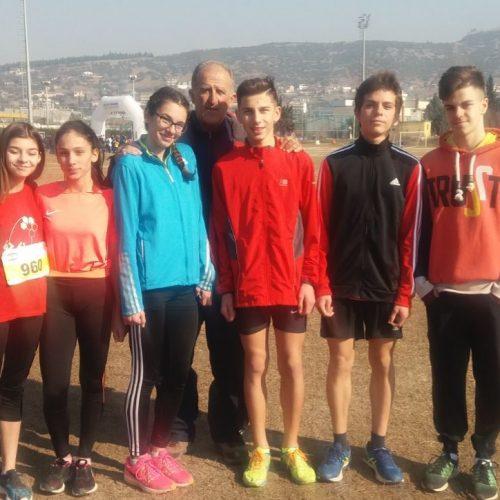 Διακρίσεις από τους νεαρούς δρομείς του Φιλίππου στο Περιφερειακό Πρωτάθλημα Ανωμάλου Δρόμου