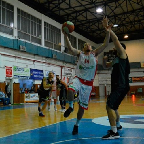 Μπάσκετ: Φίλιππος - Νικόπολη  Πρέβεζας (86-68)