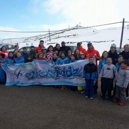 Ποδαρικό στα χιόνια έκανε ο ΣΧΟ Βέροιας στο Χιονοδρομικό Κέντρο Ανήλιου Μετσόβου