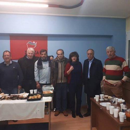 Κοπή της πίτας των οργανώσεων μελών Νάουσας και Αλεξάνδρειας -  Χορός της Ν.Ε. του ΣΥΡΙΖΑ Ημαθίας