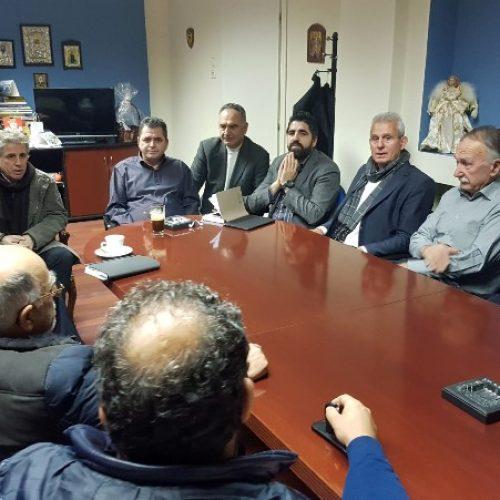 Σύσκεψη  του αντιπεριφερειάρχη  Ημαθίας με τους προέδρους των ΤΟΕΒ