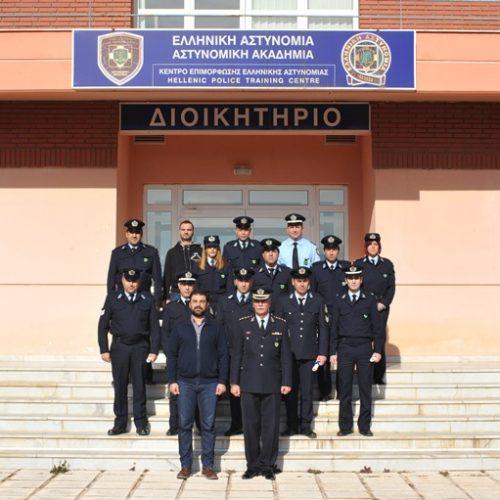 Εκπαιδευτικές δράσεις της Σχολής Ελληνικής Αστυνομίας στη Βέροια