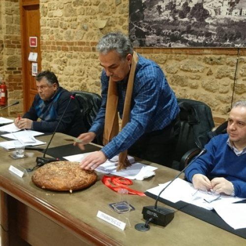 Το Δημοτικό Συμβούλιο Βέροιας έκοψε τη βασιλόπιτα