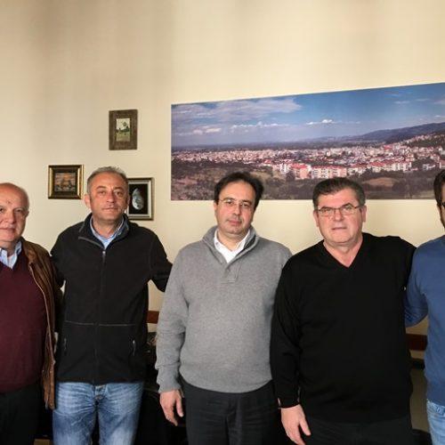 Συνάντηση Δημάρχου Βέροιας με το Δ.Σ. της Ομοσπονδίας Χειροσφαίρισης Ελλάδος