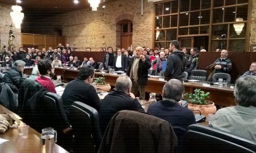 Έντονες διαμαρτυρίες στο ΔΣ Βέροιας για τη μετεγκατάσταση των Ρομά στο Εργοχώρι