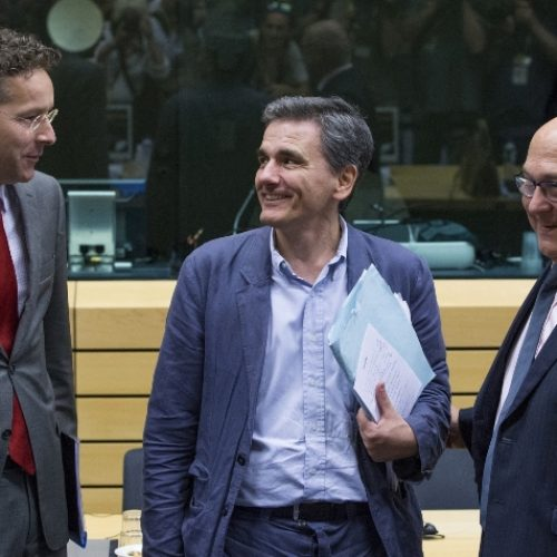 """Eurogroup: """"Τον Φεβρουάριο η υποδόση των 5,7 δισ. – Όρος οι πλειστηριασμοί για επιπλέον 1 δισ"""""""