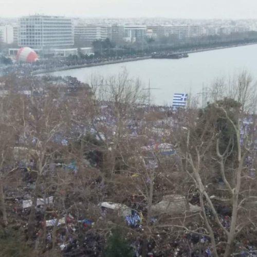"""Τάσος Μπαρτζώκας: """"Το συλλαλητήριο της Θεσσαλονίκης ήταν ένα ισχυρό μήνυμα προς κάθε κατεύθυνση"""""""
