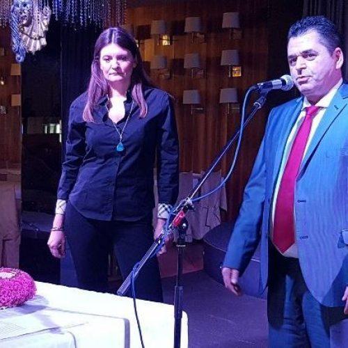 Παρουσία του Περιφερειάρχη Κ.  Μακεδονίας   και του Αντιπεριφερειάρχη   έκοψαν την βασιλόπιτα τους οι υπάλληλοι της Π.Ε Ημαθίας