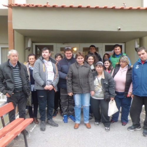 Επίσκεψη των μαθητών του ΕΕΕΕΚ Αλεξάνδρειας στο Γηροκομείο Βέροιας