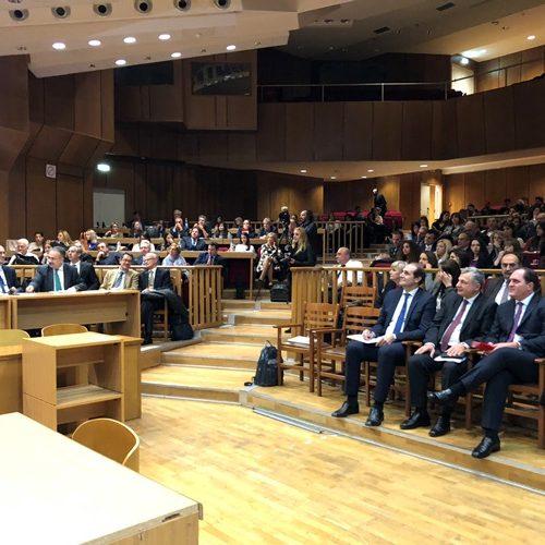 Ο Απ. Βεσυρόπουλος σε Διημερίδα της  Ένωσης Ελλήνων Νομικών για επίκαιρα ζητήματα φορολογικού και ασφαλιστικού δικαίου