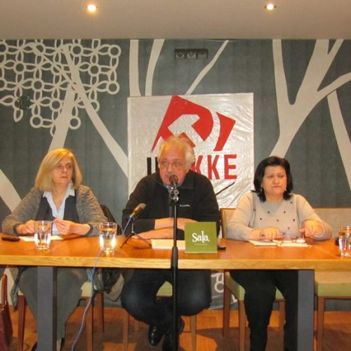 """Σωτήρης Ζαριανόπουλος: """"Ο λαός να βγει στο δρόμο ενάντια σ' αυτούς που ωφελούνται από τα μνημόνια"""""""