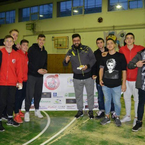 Μπάσκετ: Έκοψαν την πίτα τους   οι ακαδημίες του Φίλιππου
