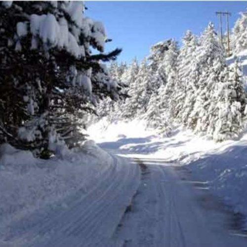 Η κατάσταση στο οδικό δίκτυο της Κ. Μακεδονίας, Τετάρτη 28 Φεβρουαρίου