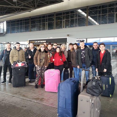 Αναχώρησε η παιδαγωγική ομάδα του τομέα Γεωπονίας  του 1ου  ΕΠΑΛ Βέροιας  για την Κύπρο