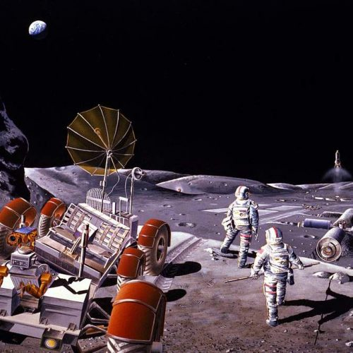 Ορυχεία στο φεγγάρι. Το back-up σχέδιο της Γης;