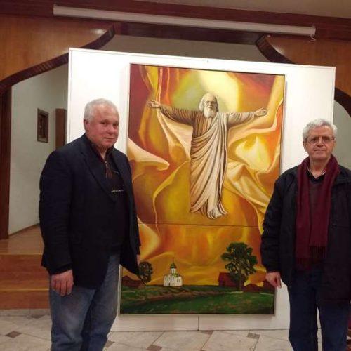 """Εξαιρετικοί πίνακες ζωγραφικης για τον Άγιο Λουκά τον Ιατρό  στην """"pella tv"""""""