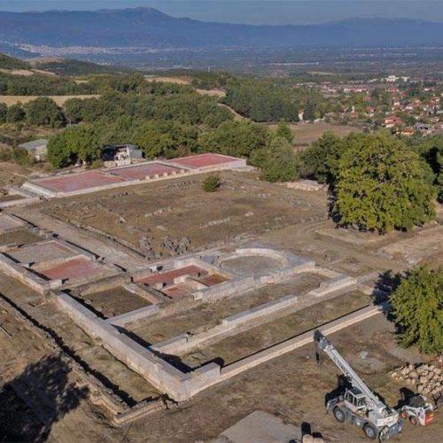 Ανάκτορο Φιλίππου Β'. Αποκαλύπτεται η κλασική αρχιτεκτονική της Μακεδονίας
