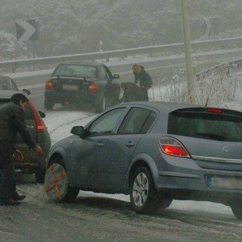 Η κατάσταση στο οδικό δίκτυο της Περιφέρειας Κ. Μακεδονίας, Τρίτη 27 Φεβρουαρίου