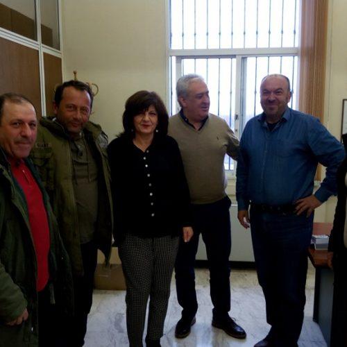 Επίσκεψη της  Φρόσως Καρασαρλίδου σε ΑΣ Επισκοπής και Επιμελητήριο Ημαθίας