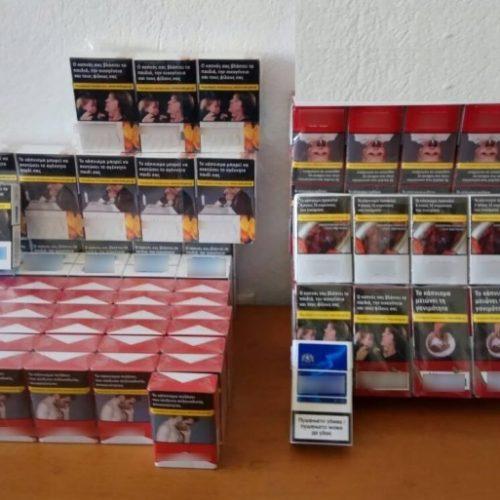 Σύλληψη για λαθραία τσιγάρα και καπνό