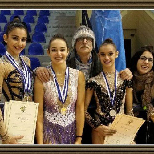 6  Ασημένια μετάλλια για τα κορίτσια της Ρυθμικής του Φιλίππου