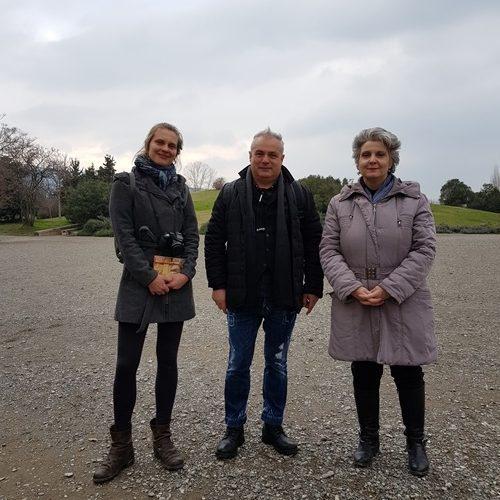 Γερμανίδα δημοσιογράφος τουρισμού επισκέφτηκε τη Βέροια