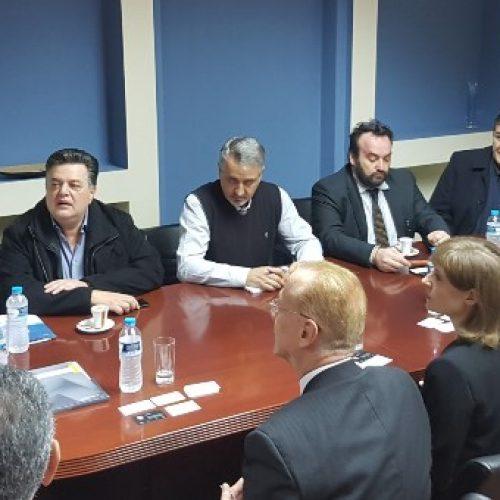 Επίσκεψη του Μολδαβού πρέσβη στον αντιπεριφερειάρχη Ημαθίας - Διευρυμένη σύσκεψη, Τετάρτη 7η Μαρτίου