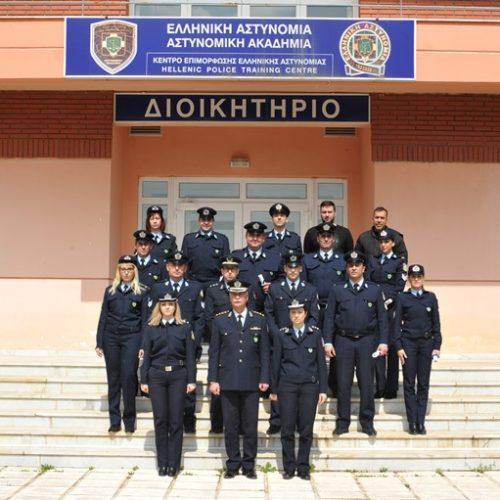Τελετή απονομής πιστοποιητικών σπουδών στη Σχολή της  Ελληνικής Αστυνομίας στη Βέροια