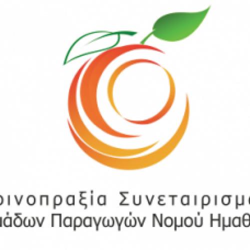 Ανακοίνωση της Κοινοπραξίας Συνεταιρισμών Ομάδων Παραγωγών  Ημαθίας