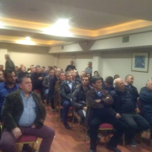 Πραγματοποιήθηκε η σύσκεψη ροδακινοπαραγωγών στη Βέροια που κάλεσε η Πανελλαδική Επιτροπή   Μπλόκων